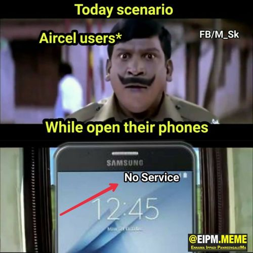 Aircel porting problems