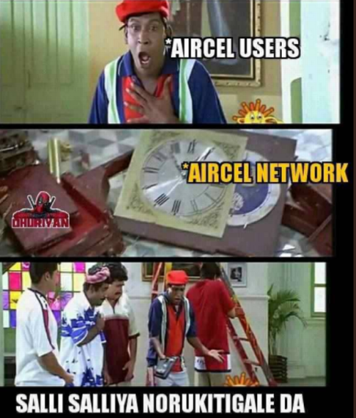 Aircel not working memes
