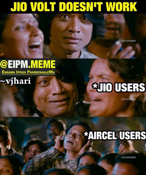 Reliance jio trolls
