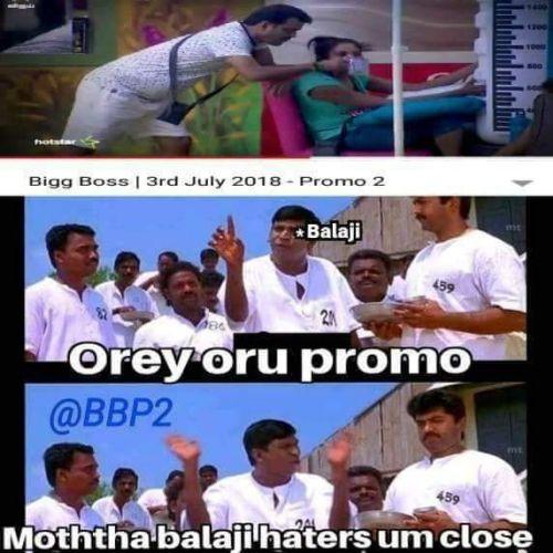 Bigg Boss Tamil Season 2 Memes and Trolls