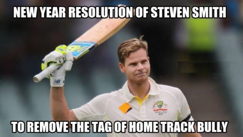 Funny Meme For New Year : New year resolution of cricketers on a funny note