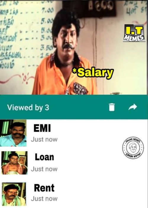 Whatsapp Seen Status Memes In Tamil
