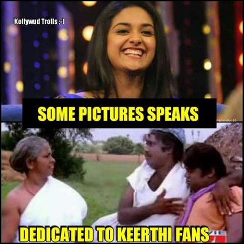 Keerthy suresh smile and laugh photos