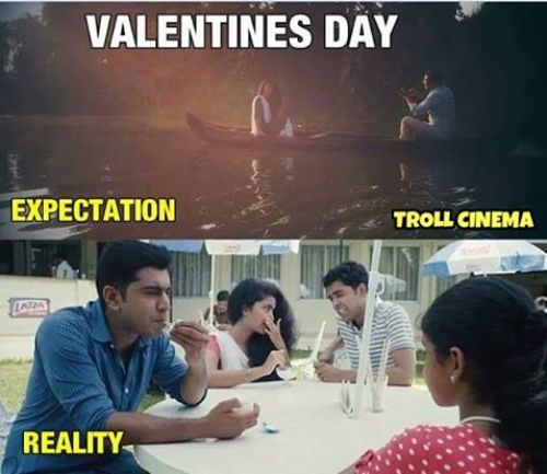 Valentine day expectations vs reality memes